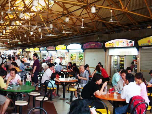 Hawker Centre - Du lịch tiết kiệm ở Singapore