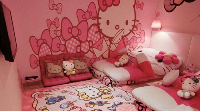 Champion Hotel - Phòng Hello Kitty - Top 10 khách sạn Singapore giá rẻ dưới 100$