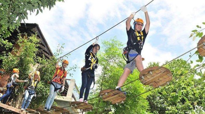 Công viên Phoenix Adventure - Tất tần tật kinh nghiệm du lịch Chiang Mai Thái Lan