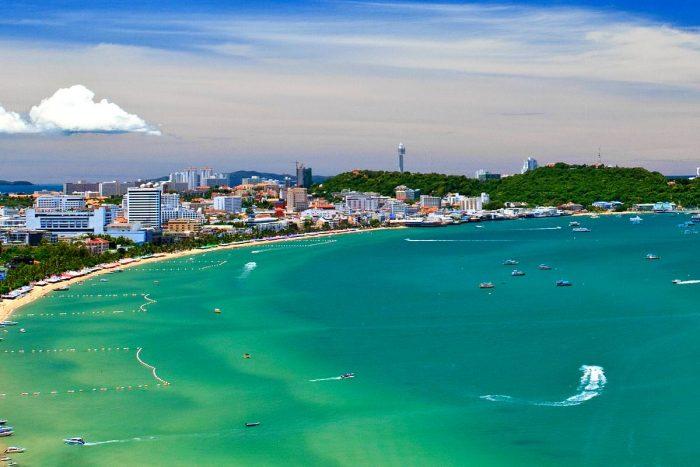Bãi biển Jomtien - Điểm tham quan Pattaya