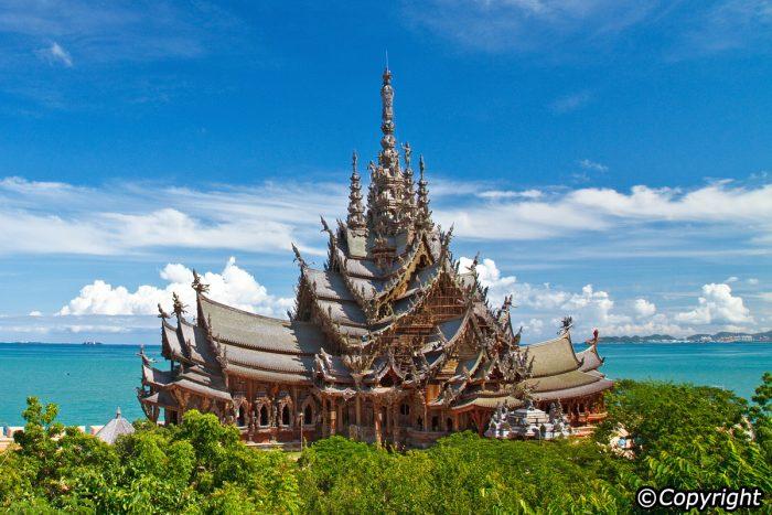 Ngôi đền chân lý - Điểm tham quan Pattaya