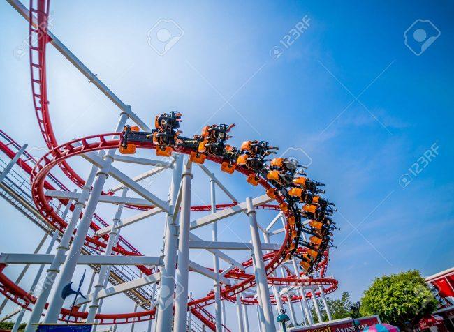 Sky Coaster - Kinh nghiệm đi Dream World Bangkok