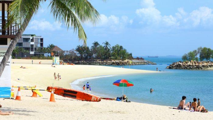 Bãi biển Sentosa - Du lịch tiết kiệm ở Singapore