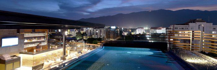 Bể bơi - Tất tần tật kinh nghiệm du lịch Chiang Mai Thái Lan
