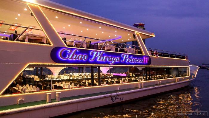 Du thuyền - Hoạt động về đêm ở Bangkok