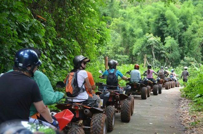 Lái xe ATV - Tất tần tật kinh nghiệm du lịch Chiang Mai Thái Lan