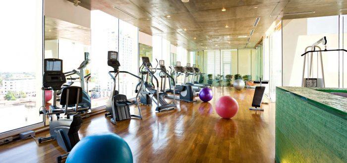 Phòng Gym - Tất tần tật kinh nghiệm du lịch Chiang Mai Thái Lan