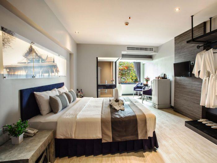 Phòng ở khách sạn - Tất tần tật kinh nghiệm du lịch Chiang Mai Thái Lan
