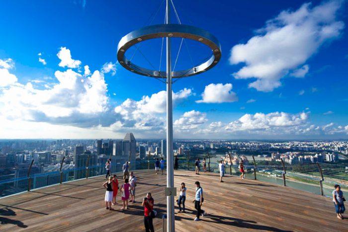 Sky Park - Du lịch tiết kiệm ở Singapore