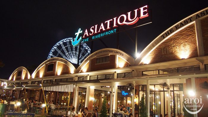 Trung tâm thương mại Asiatique - Hoạt động về đêm ở Bangkok