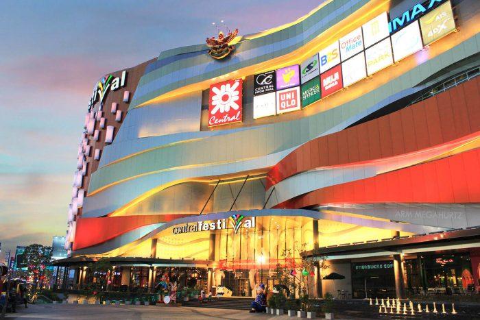rung tâm thương mại - Tất tần tật kinh nghiệm du lịch Chiang Mai Thái Lan
