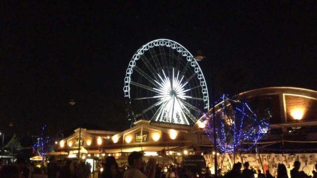 Asiatique Sky Ferris Wheel - Điểm vui chơi cho trẻ em ở Bangkok