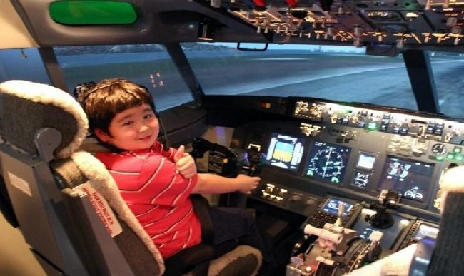 Flight Experience Bangkok - Điểm vui chơi cho trẻ em ở Bangkok
