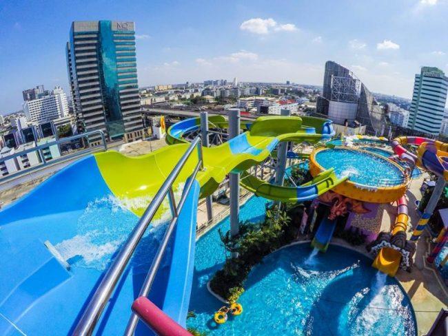 Pororo Aquapark - Điểm vui chơi cho trẻ em ở Bangkok