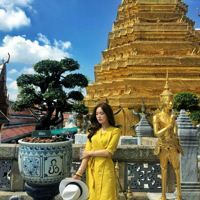 Ghé thăm Grand Palace – Hoàng Cung xa hoa lộng lẫy của Thái Lan