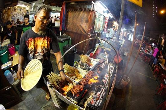 5 địa chỉ ăn thịt xiên nướng satay ngon ở Singapore