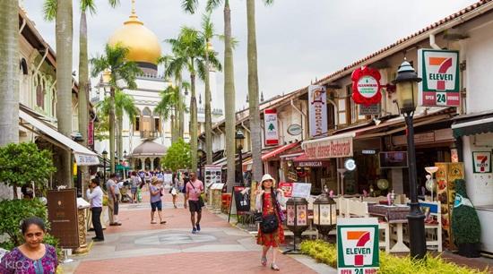 Cảm nhận nét văn hóa độc đáo qua những khu phố ở Singapore