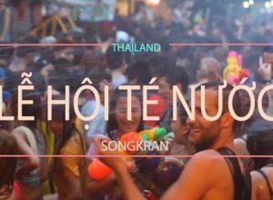 Kinh nghiệm tham giam lễ hội té nước Songkran