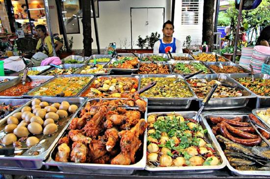 5 khu tập trung đồ ăn vặt tại Bangkok