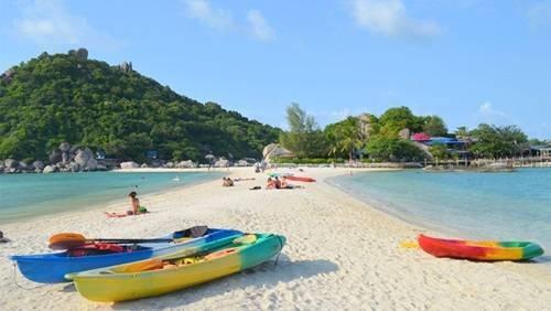 Du lịch Koh Nangyuan hòn đảo tuyệt đẹp trên vịnh Thái Lan