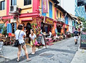 Haji Lane con phố chuyên dành cho đồ handmade ở Singapore