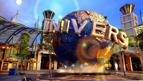 Universal Studios công viên theo chủ đề phim Hollywood