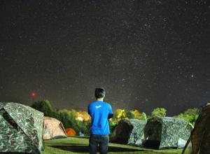 Cắm trại ở Huay Nam Dang Chiang Mai Thái Lan