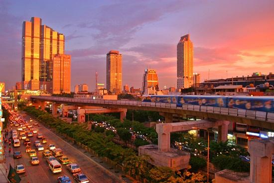 Kinh nghiệm đi lại ở bangkok Thái Lan