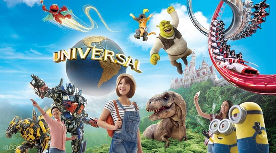 Vui chơi Universal Studios Singapore công viên giải trí nức danh