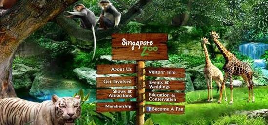 Sở Thú Singapore với hình thức
