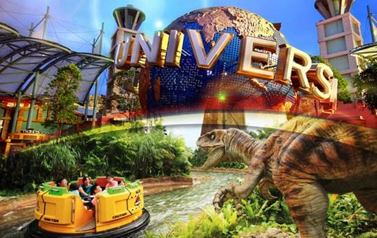 Một ngày đi chơi thật vui vẻ cùng bạn bè của mình ở Universal Singapore