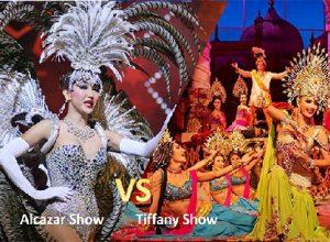 xem tiffany show hay alcazar show ở pattaya
