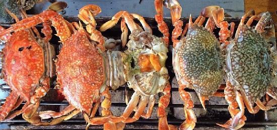 chợ hải sản Cát Bà