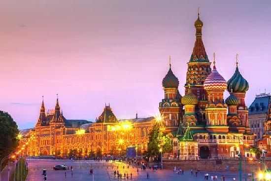 Lịch trình du lịch nga 16 ngày tự túc giá rẻ