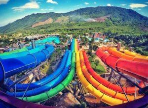 Công viên suối khoáng nóng Núi Thần Tài