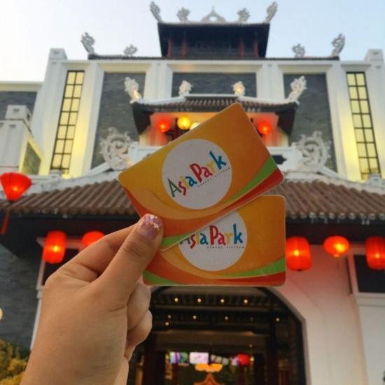 Vé tham quan Asia Park Vòng quay mặt trời Sun Wheel