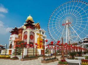 Vòng quay mặt trời - Sun Wheel - Trong Asia Park
