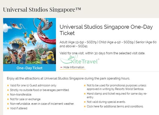 Hướng dẫn đi Universal ở Singapore (USS)