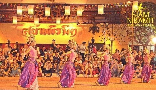 show Siam Niramit Bangkok