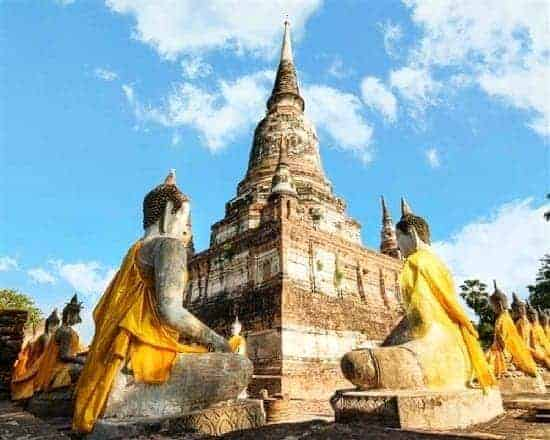 Tour ghép tham quan cố đô Ayutthaya