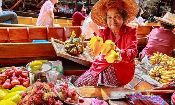 Tour tham quan chợ nổi Damnoen Saduak
