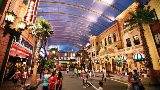 Hướng dẫn chơi trong Universal Studios Singapore