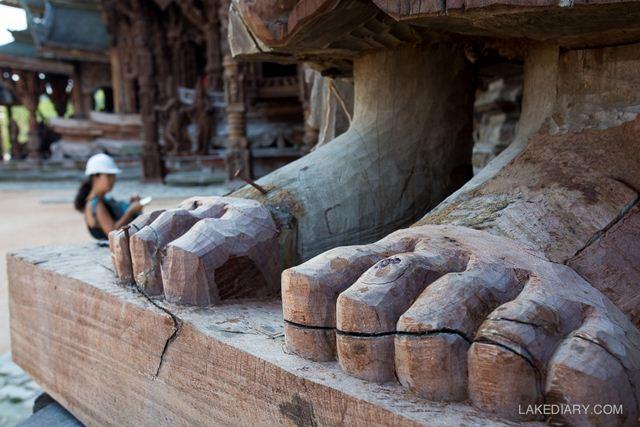 Vé Sanctuary of Truth Pattaya