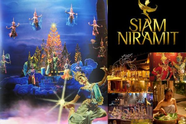 Vé Show Siam Niramit Bangkok