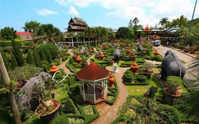 Vé vào cổng Nong Nooch Tropical Garden