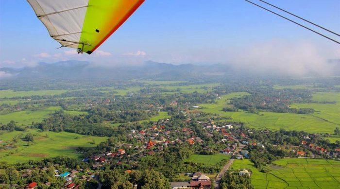 Tour du ngoạn Chiang Mai bằng máy bay Microlight