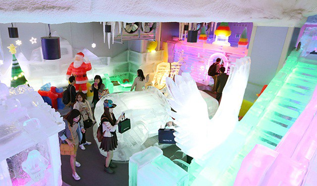 Vé Trick Eye Museum và Ice Museum at Hongdae