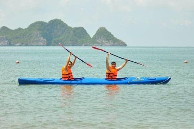 Tour Phú Quốc Chèo Kayak