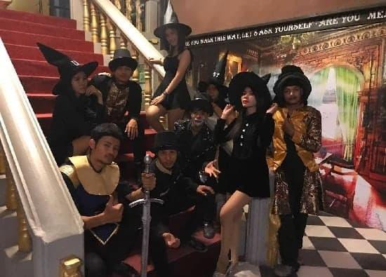 show Tuxedo Illusion Hall Pattaya