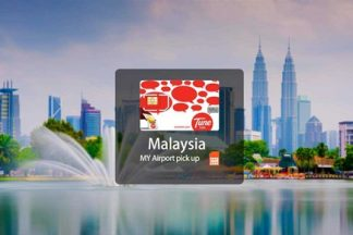 4G SIM Card (nhận tại sân bay MY) cho Malaysia